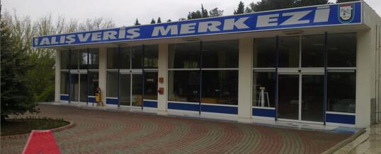 Alışveriş Merkezi Fotoselli Kapı